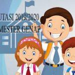PENERIMAAN MUTASI TAHUN PELAJARAN 2019/2020 SEMESTER GENAP TAHAP 3
